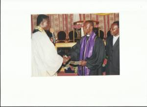 Ordination Robing ceremony, Led by Re. Mensah Sarpon