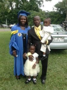 Rev. Fosu and Family