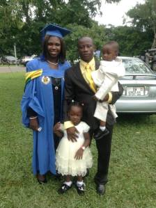 Rev. Fosu and Family