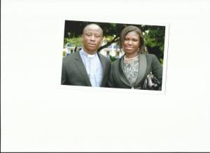 Rev. Fosu and Wife