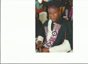 Rev. Fosu at his Master's Degree Graduation Ceremony
