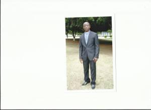 Rev. Fosu at Trinty Theological Seminary, Legon