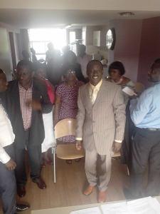 Rev. Fosu leading a Revival and Leadership seminar at King of Kings Baptist Church, Amsterdam