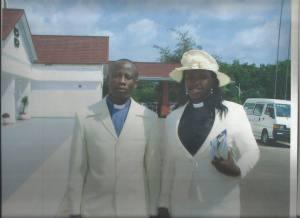 Rev & Rev. Mrs. Fosu at Golden Tulip Hotel, Kumasi, Ghana