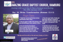 Fasting journey 18