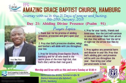 Fasting journey 21