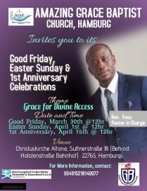 Easter and anniversary